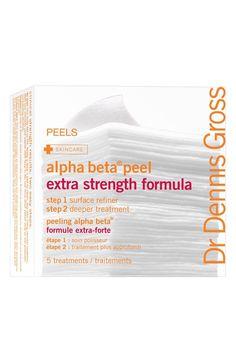 Main Image - Dr. Dennis Gross Skincare Alpha Beta® Peel Extra Strength Formula - 5 Applications