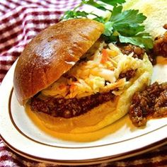 Packed with seasonings and big flavors, then simmered to tender perfection, these homemade Sloppy Joes are the real deal.