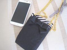 縫わずに作るPhoneホルダー