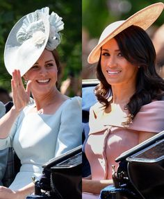 Trooping the Colour June)🇬🇧 . Members of the British Royal Family attended the Trooping the Colour to celebrate the Queen's Princess Katherine, Princess Diana Family, Princess Meghan, Duchess Kate, Duke And Duchess, Duchess Of Cambridge, English Royal Family, British Royal Families, Prince Harry And Megan