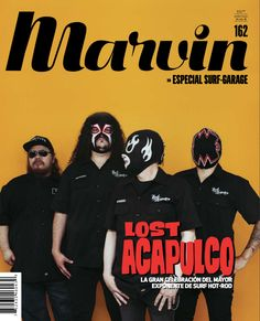Portada: Lost Acapulco #MinimalDesign #Minimal #RevistaMarvin #Marvin #ArtDirection #Magazine #EditorialDesign #Editorial #GraphicDesign #SurfGarage #Surf #Garage #LostAcapulco