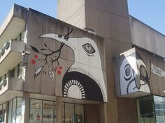 Current Birmingham Library feature. Be sad to see this go, by Lucy McLauchlan http://www.createdinbirmingham.com/2010/08/09/birds-perch-on-central-library/