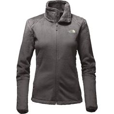 aee12cbd58 The North Face - Osito 2 Fleece Jacket - Women s - Asphalt Grey Ambrosia  Green
