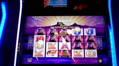 """The Night of the Buffalo slot machine"" Buffalos line hit on Buffalo"