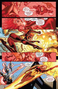 FireStar using Mandarin's Fire Ring to Blow up Ironman's Drone Marvel Women, Marvel Girls, Marvel Dc Comics, Marvel Heroes, Anime Comics, Marvel Comic Character, Marvel Characters, Jean Grey, Firestar Marvel