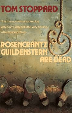 i loved this.... Rosencrantz and Guildenstern are Dead by Tom Stoppard. read the play first but the movie's good as well