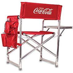 Coke® Folding Picnic Chair