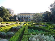 Gardens of Palazzo Corsini al Prato, Florence, Italy