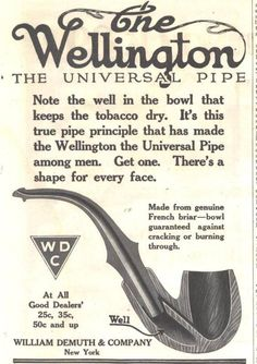 Old WDC Wellington ad