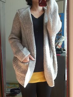 with Knit Cardigan http://www.styleonme.com/shop/view.php?index_no=28872