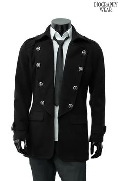 Fitted/Trench Coat Military Style