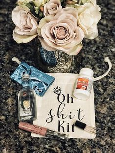Oh Shit Kit//Bachelorette Bag//Bachelorette Decor//Bridal Party Gifts//Bachelorette Party Favors//Bridesmaid Gifts//Maid Of Honor Gift