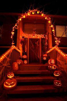 halloween light show location