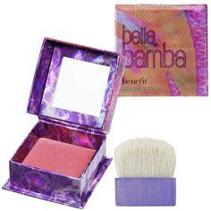 Benefit Cosmetics - Bella Bamba   Sephora// MUY ROSA, LO RECOMIENDO PARA PERSONAS BLANCAS