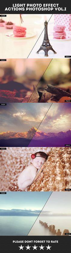 Light Photo Effect Actions Photoshop #design #photoeffect Download: http://graphicriver.net/item/light-photo-effect-actions-photoshop-voli/10489008?ref=ksioks