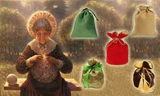 Take a present from a wise seer! Just pick a magic bag . Test Image, Magic Bag, Linen Bag, Believe In Miracles, Tree Branches, Fairy Tales, Presents, Christmas Ornaments, Holiday Decor