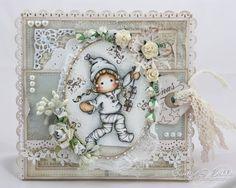 Cards by Camilla: Hjerteboden's juleblogg for oktober ♥