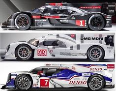 Le Mans 2014. Audi vs Porsche vs Toyota
