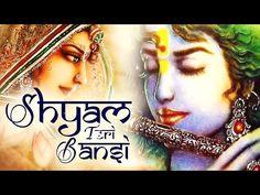 SHYAM TERI BANSI PUKARE RADHA NAAM | VERY BEAUTIFUL SONGS - POPULAR KRISHNA BHAJANS ( FULL SONGS ) - YouTube