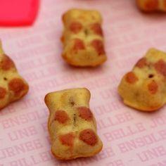 Moules petit ours en chocolat - Cuisine créative - Youdoit.fr