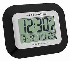 Precision radio #controlled #alarm clock #prec0097,  View more on the LINK: http://www.zeppy.io/product/gb/2/252379542451/