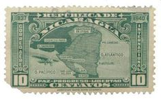 In 1937 Nicaragua and Honduras almost started a war because of a postage stamp.
