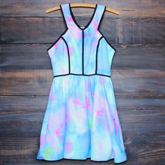 tie dye the watercolor dress
