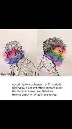 I LOVE THISSS >> IM SO GLAD THEY PAINTED JOHN BI BECAUSE ITS NEVER ACKNOWLEDGED AND THIS MAN IS BISEXUAL AS FUCK