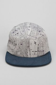Rosin NY Maps 5-Panel Hat - Urban Outfitters