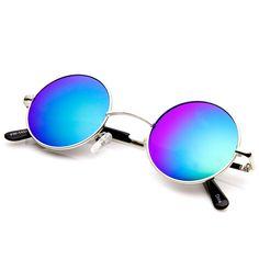 78d66ce7b5 Lennon Style Small Round Color Mirrored Lens Circle Sunglasses  mirrored   sunglasses  frame