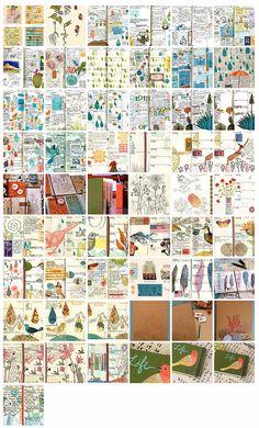 Blog of art journals