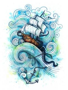 How nice would a half sleeve of just the swirls would look?!!