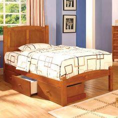 Cara OAK Beds Collection - CM7903OAK