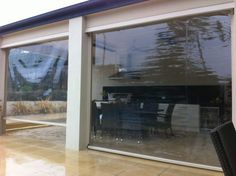 outdoor pvc roller blinds - Google Search