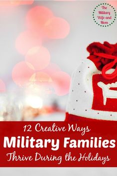 When far from family, these 12 creative ideas are awesome to help military families thrive during the holiday season! Make your season feel merry and bright Military Spouse, Military Families, Military Blogs, Family Thanksgiving, Family Holiday, 12 Days Of Christmas, Christmas Holidays, Soldier Care Packages, Winter Project