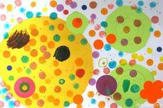 Kid's Dot art
