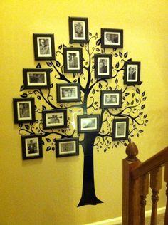 Генеалогическое древо - семейная родословная в вашем интерьере :: Фото красивых…