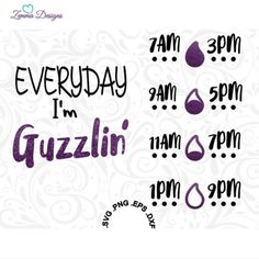 water bottle svg - water tracker svg - water intake svg - water svg - vinyl svg files - svg files- bottle svg -  .DXF .SVG, .PNG by ZemmaDesigns on Etsy https://www.etsy.com/listing/397942931/water-bottle-svg-water-tracker-svg-water