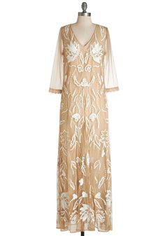 Edwardian inspired dress just lovely for an intimate wedding