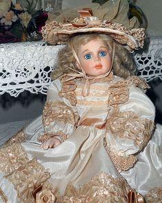 Juliette full porcelain doll