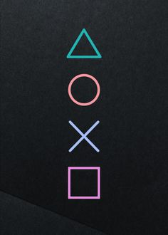 playstation buttons Displate Poster For the player - Ps Wallpaper, Game Wallpaper Iphone, Album Design, Games Tattoo, Video Game Tattoos, Playstation Logo, Xbox, Gaming Posters, Button Game