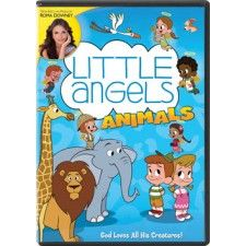 From executive producer Roma Downey comes a delightful, faith-based, educational series that preschoolers and their parents will enjoy! Through the stories of Noah's Ark and Jonah and the Whale, eight adorable angels teach young Alex and Zoe about courage, creativity, responsibility and how much God loves them!    In this charming story, Alex and Zoe learn that all creatures on Earth are gifts from God, and that we have plenty to learn from them.