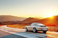 The Singer 911 Porsche 911 Singer, Singer 911, Porsche Classic, Classic Cars, Eclectic Frames, Vans New York, Transportation For Kids, Singer Vehicle Design, Car Posters