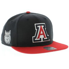 Arizona Wildcats 47 Brand Sure Shot 2 Tone SNAPBACK New Era Caps 0b5419cd4bb3