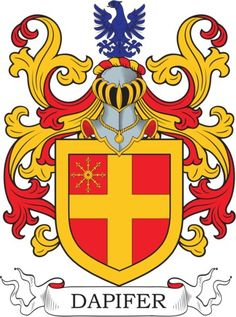 Dapifer Family Crest and Coat of Arms