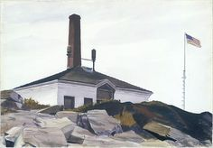 Edward Hopper | House of the Foghorn, I | The Met 1927