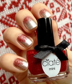 Modern Girl fr - Chrismas manicure by Ciaté And OPI Designer De Better