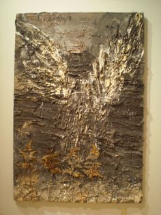 Anselm Kiefer | L'Ascension | oil, emulsion, acrylic, shellac, resin-coated ferns on canvas /sm
