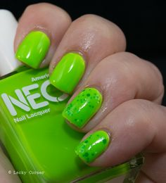 Amercian Apparel Neon Green and Foxy Paws Let's Go Fly A Kite