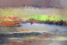 """Saatchi Art Artist Kwaschny Lidiya; Painting, """"Autum abstract"""" #art"""
